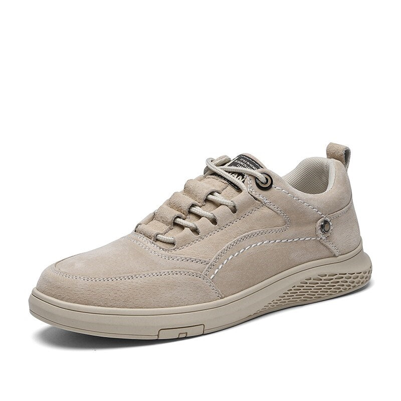 Breathable Casual Shoes In Beige