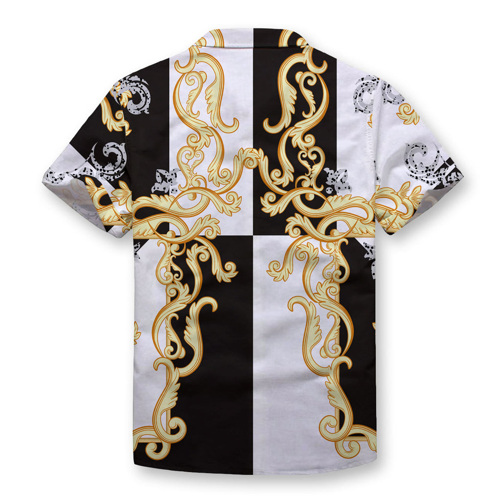 Golden Chains Button Shirt