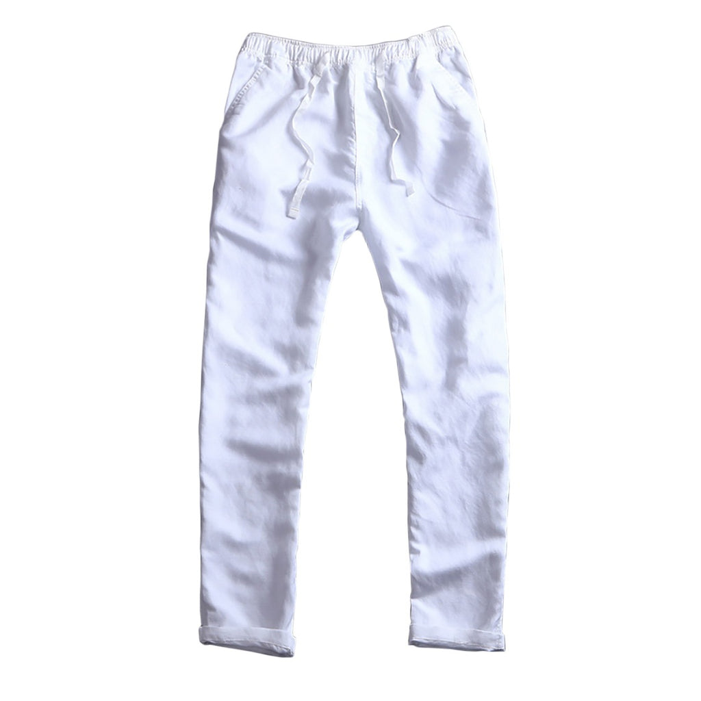 Breathable Pants In White