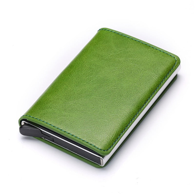Credit Card Holder Wallet In Green