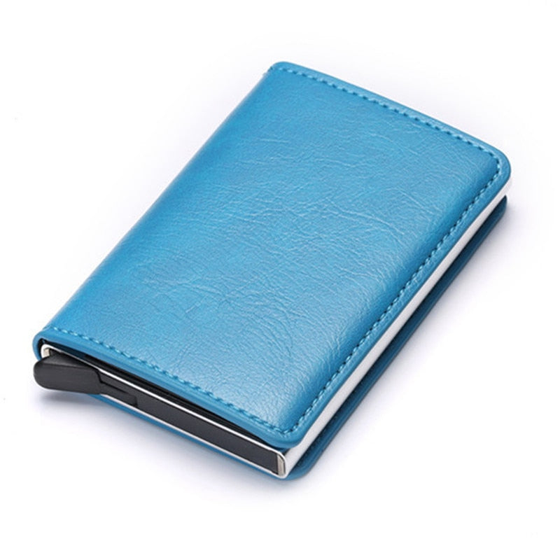 Credit Card Holder Wallet In Blue