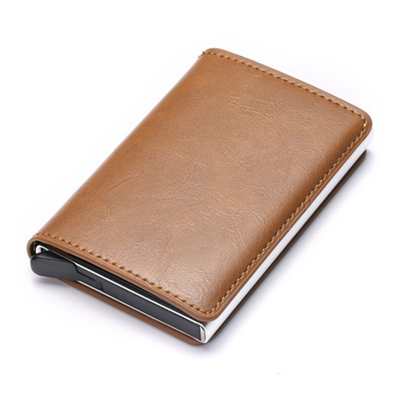 Credit Card Holder Wallet In Apricot