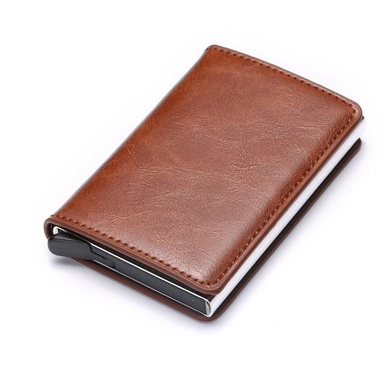 Credit Card Holder Wallet In Brown