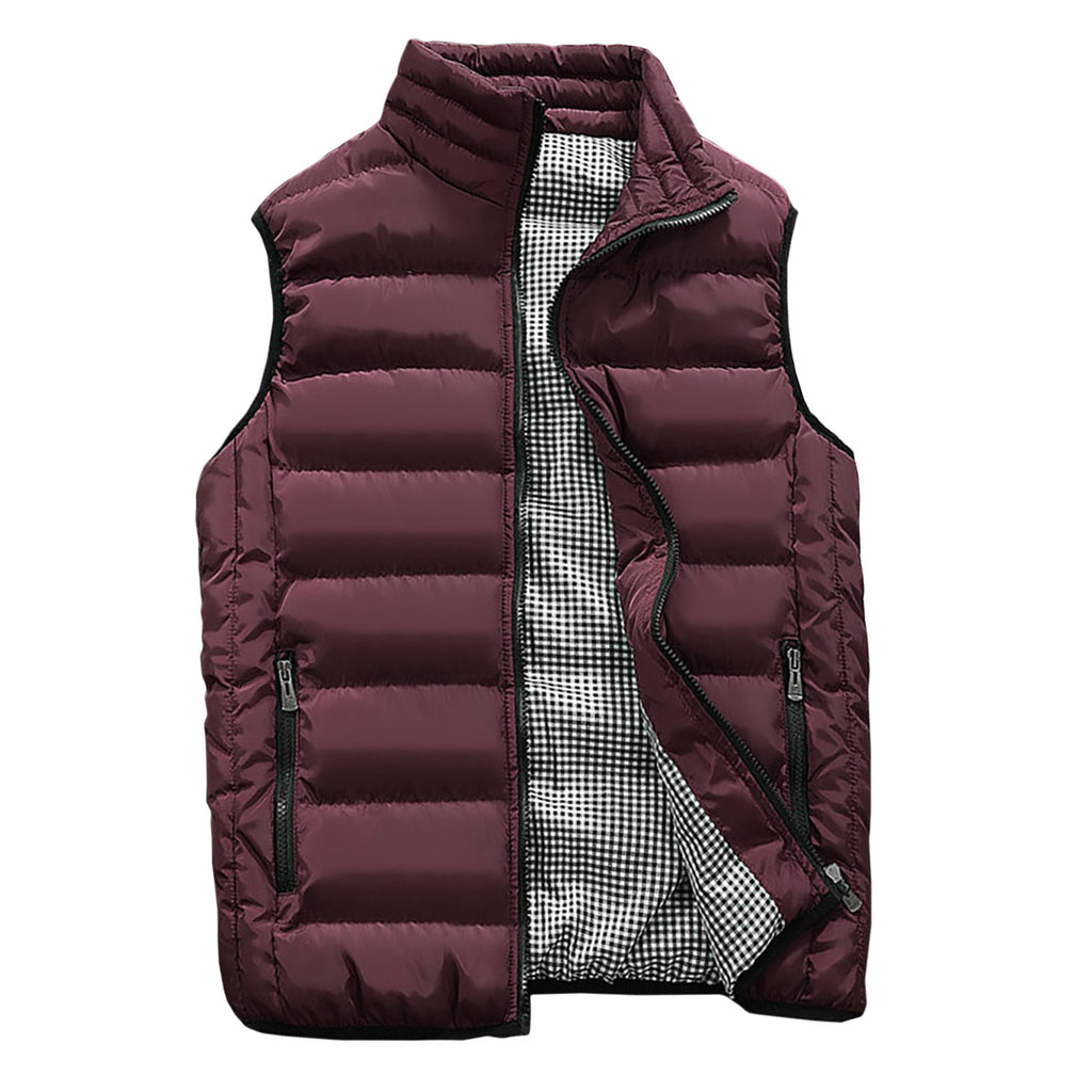 Rebel Vest In Burgundy