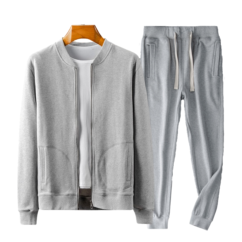 Cozy Elastic Set In Gray