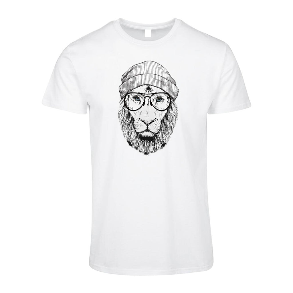 Cool Lion Design T-Shirt