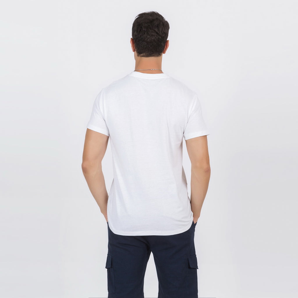 Casual T-Shirt In White