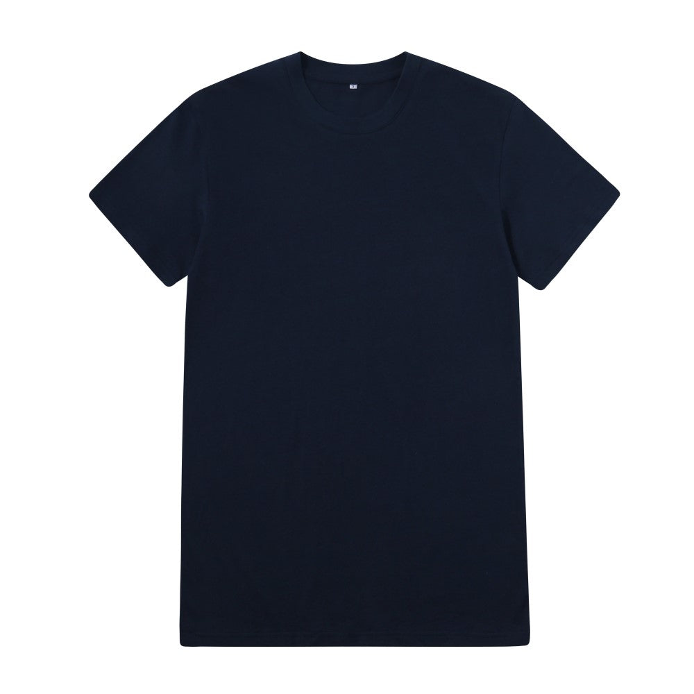 Casual T-Shirt In Navy Blue