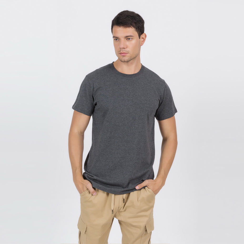 Casual T-Shirt In Dark Gray
