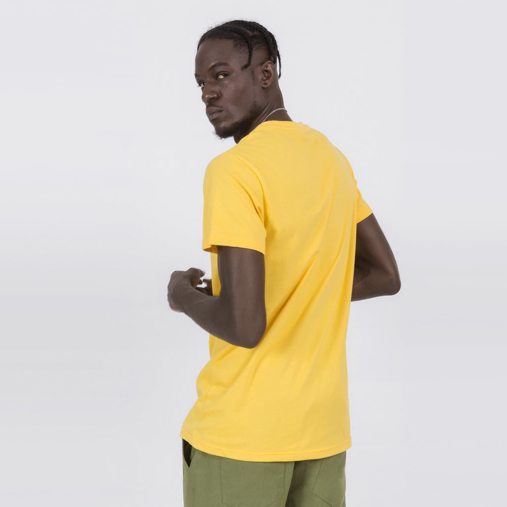 Casual T-Shirt In Yellow