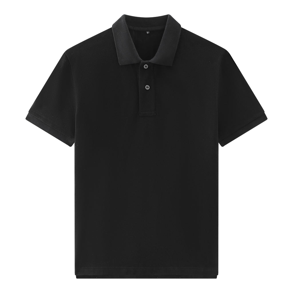 Premium Polo Shirt In Black