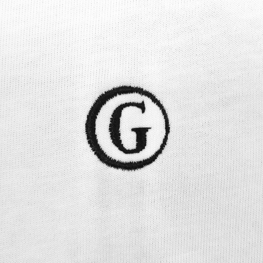 Gentoni Logo Embroidered V-Neck T-Shirt