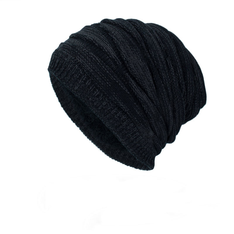 Ribbed Beanie In Black
