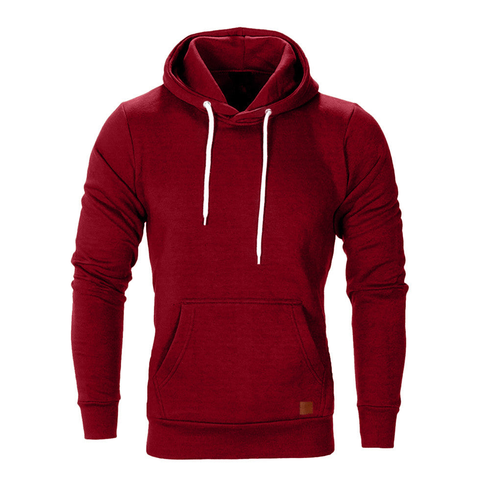 Casual Hoodie In Red