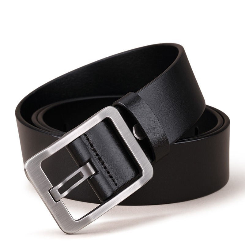 Simple Belt In Black