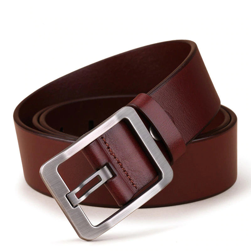 Simple Belt In Brown