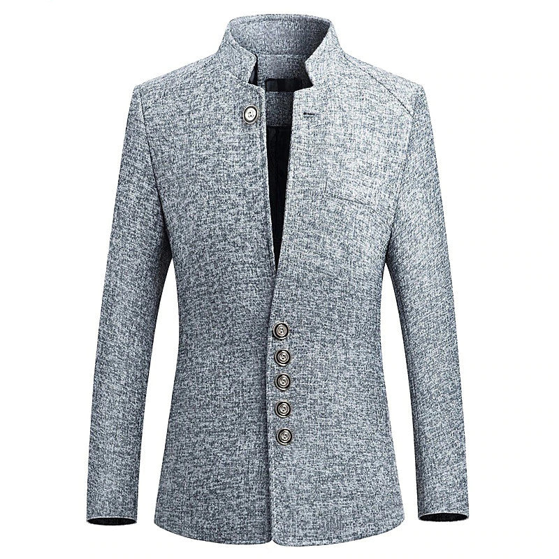 Elegant Blazer In Gray