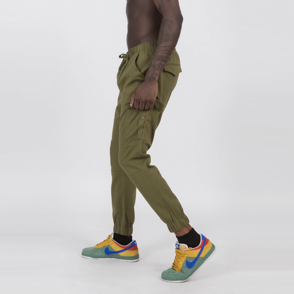 Casual Joggers In Green