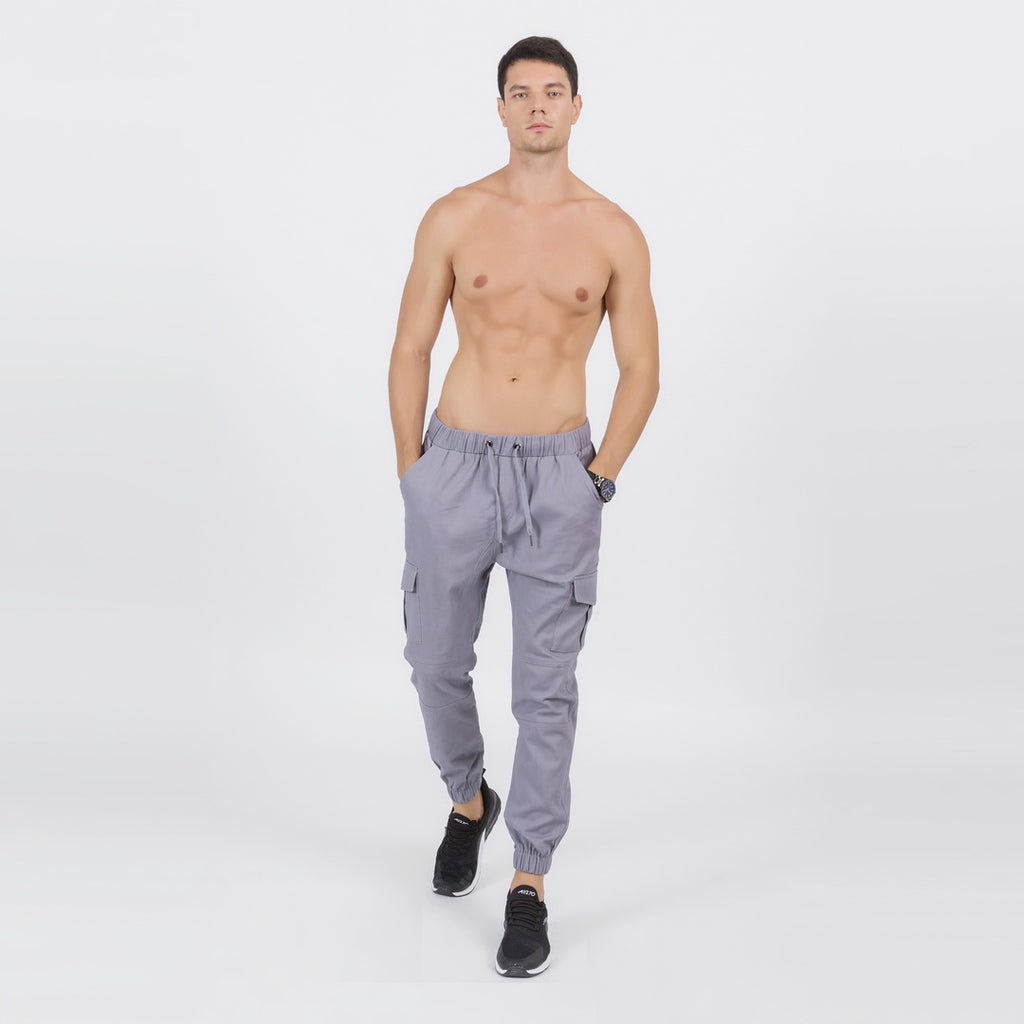 Casual Joggers In Gray