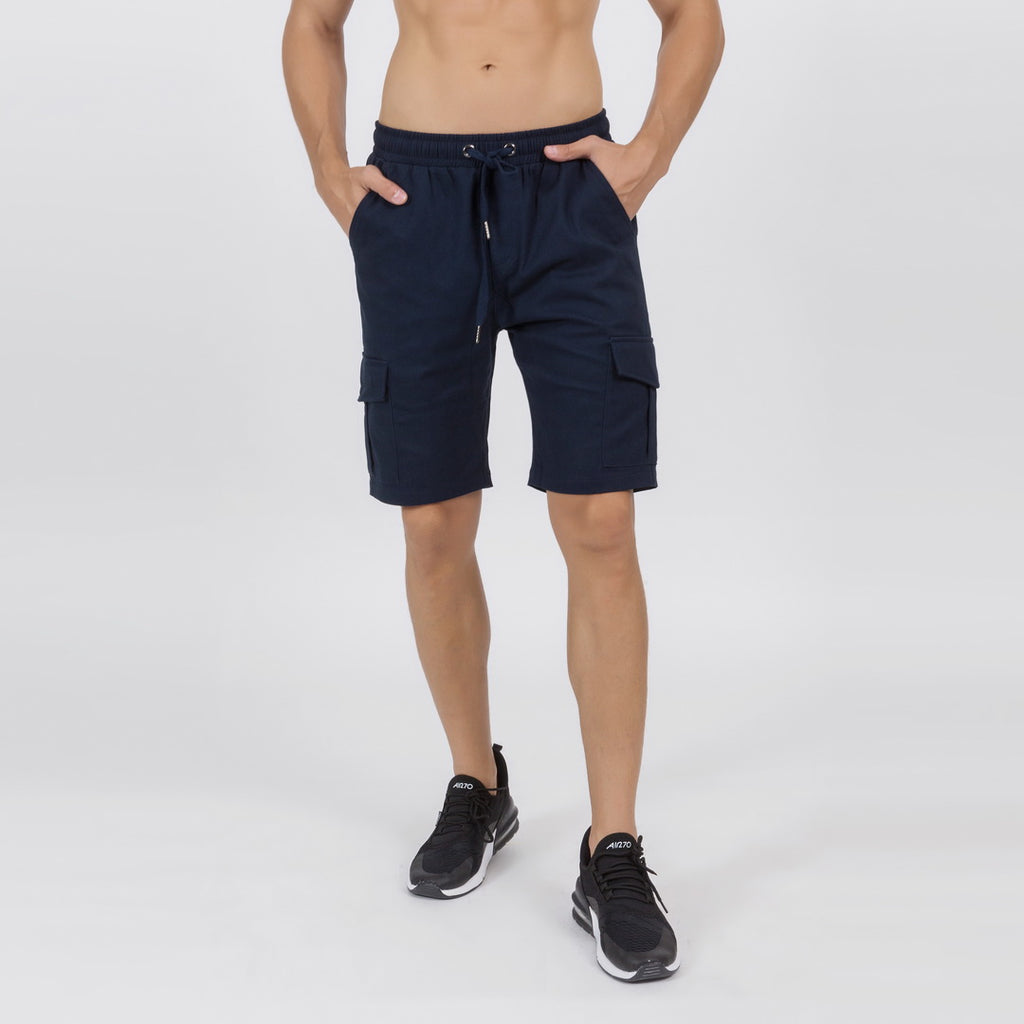 Cargo Shorts In Blue
