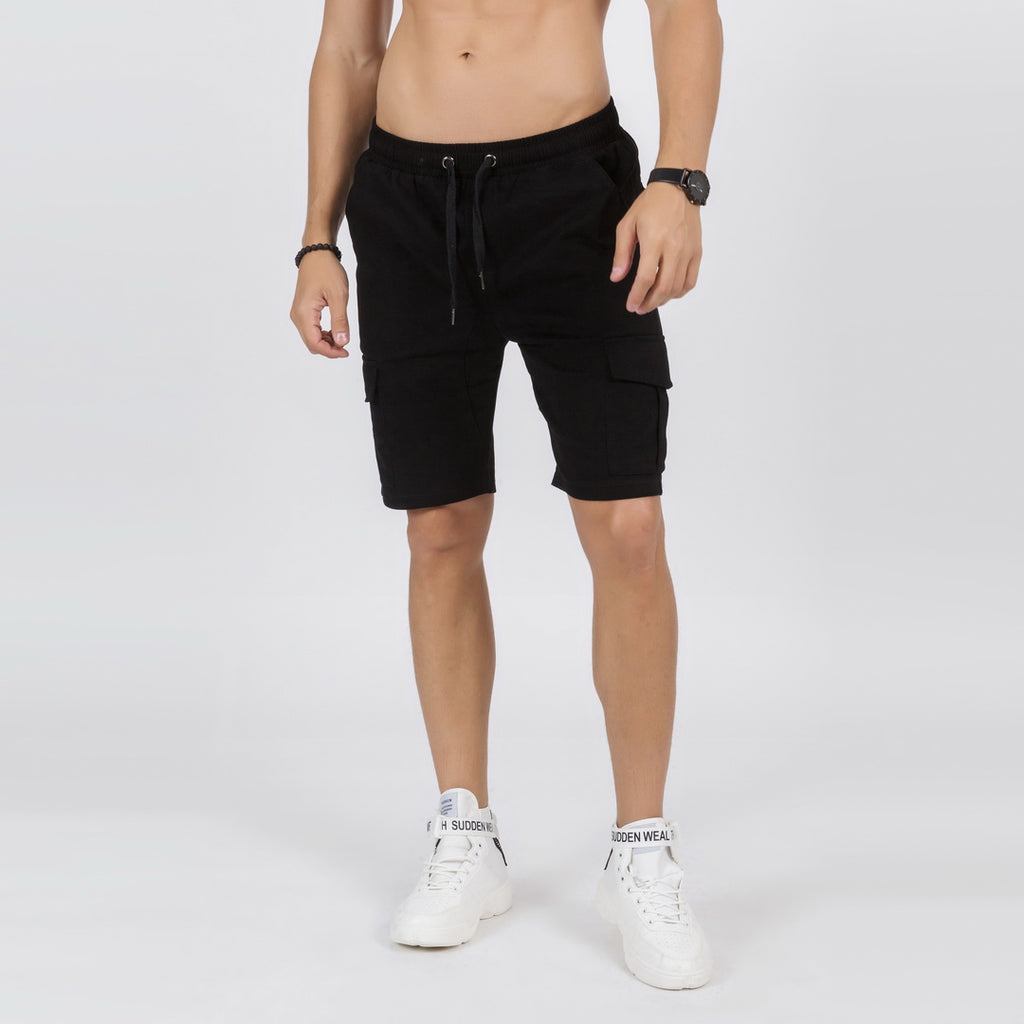 Cargo Shorts In Black