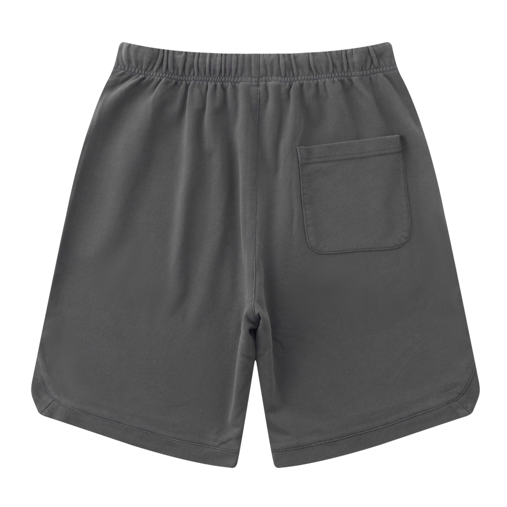 Vintage Cotton Shorts In Dark Gray