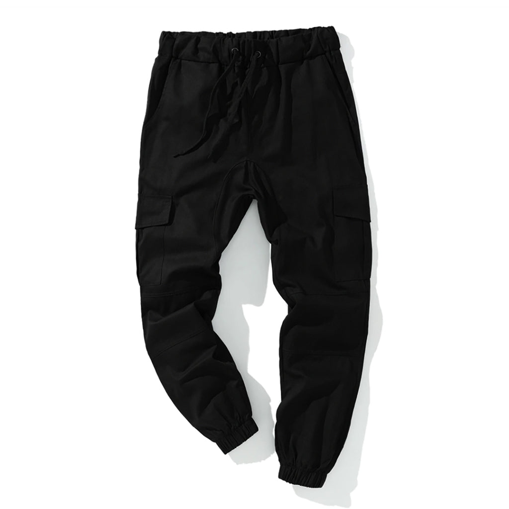 Casual Joggers In Black
