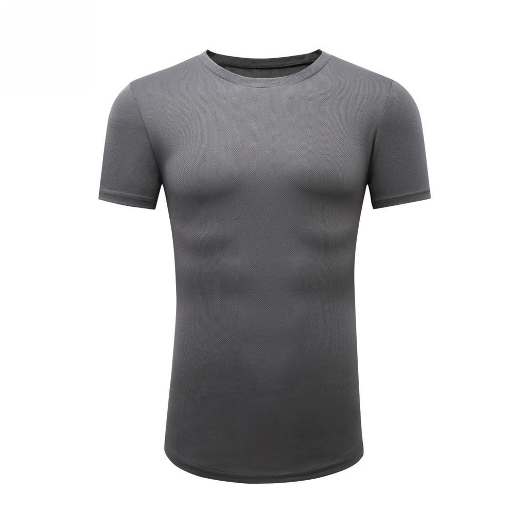 Basic Gym T-Shirt In Gray