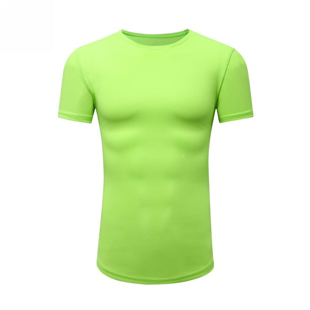 Basic Gym T-Shirt In Neon Yellow