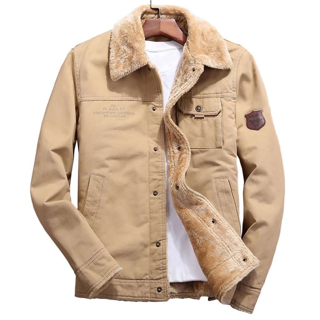 Laureano Jacket In Beige