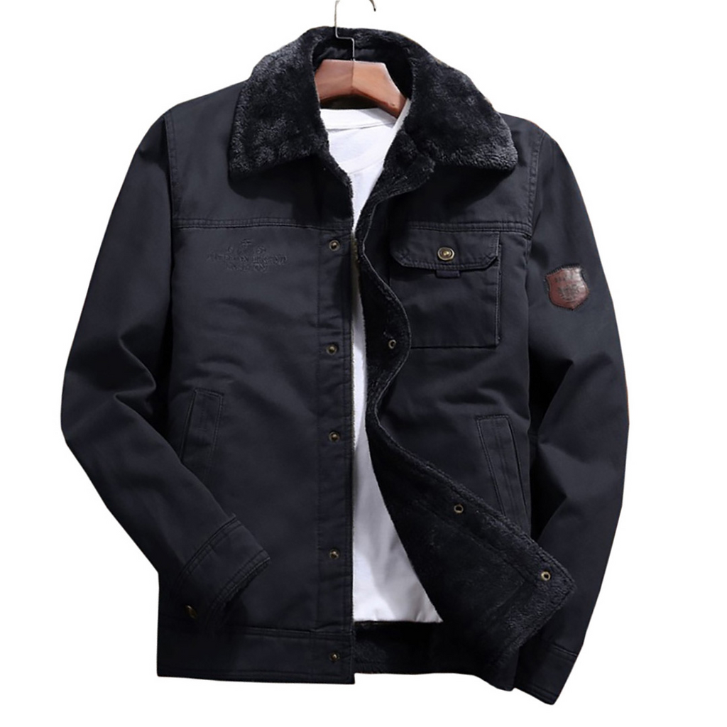 Laureano Jacket In Navy
