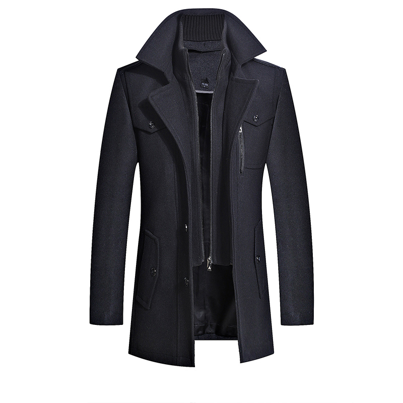 Brando Coat In Black
