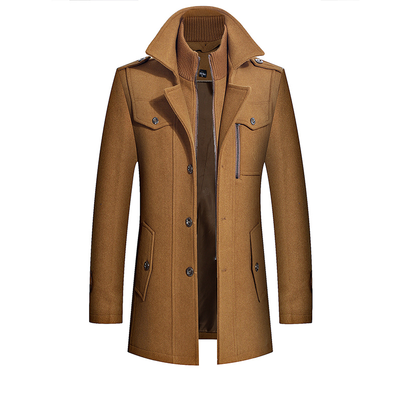 Brando Coat In Brown