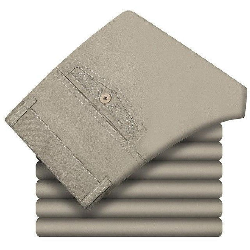 Stylish Pants In Light Gray