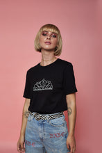 Load image into Gallery viewer, Tiara Rhinestone Tee