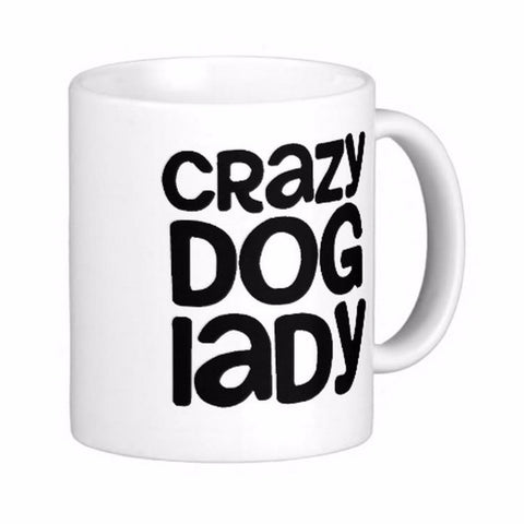 Caneca Crazy Dog Lady