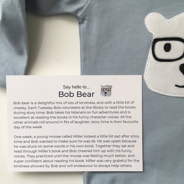 Bob Bear Long Sleeve Top