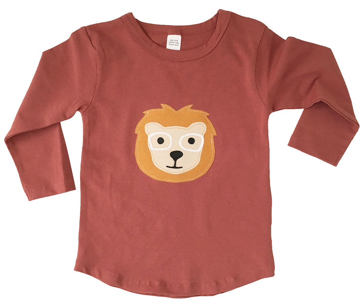 Luca Lion Long Sleeve Top