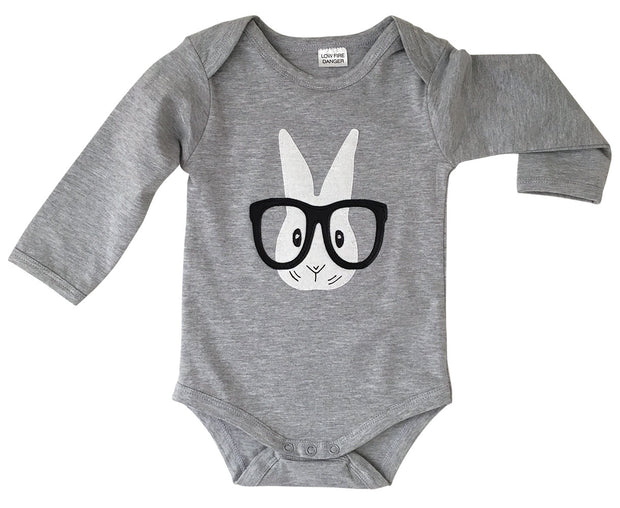 Ronnie Rabbit Long Sleeve Onesie