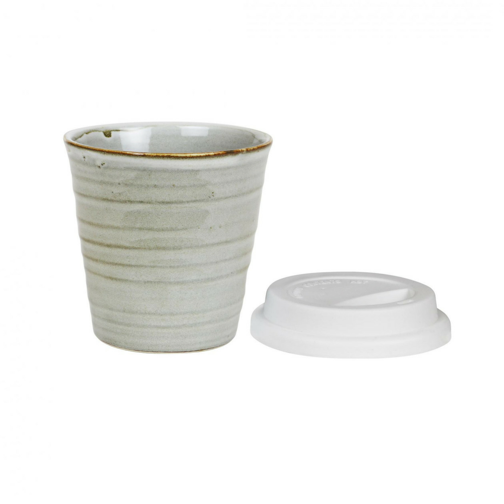 CERAMIC REUSABLE CUP - SALTBUSH | 280ML