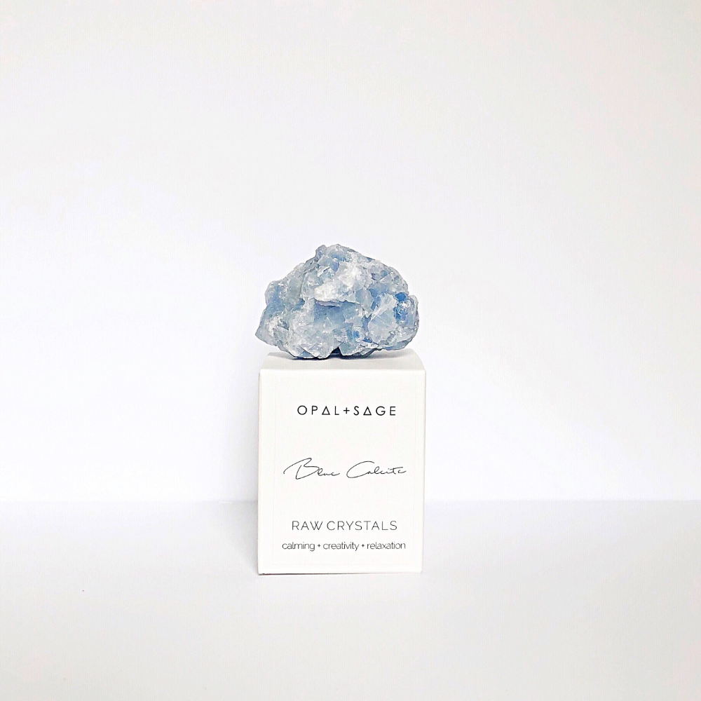 RAW CRYSTAL | BLUE CALCITE