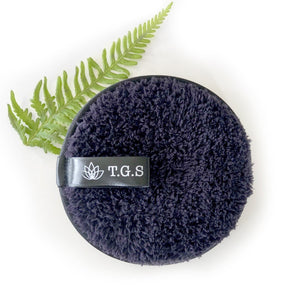 WASHABLE MAKEUP REMOVER PAD | BLACK