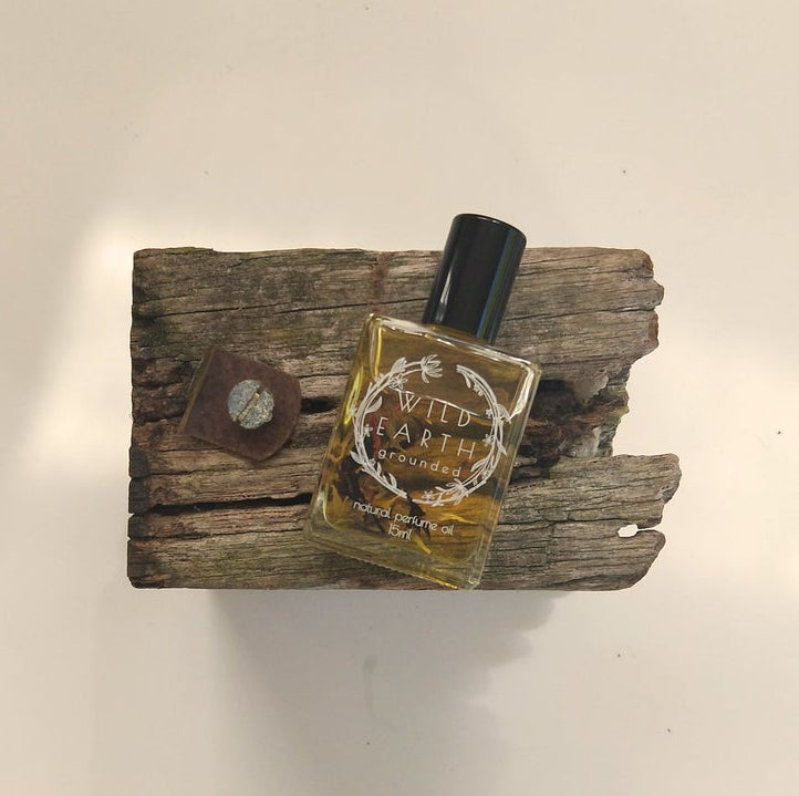 WILD EARTH NATURAL PERFUME - GROUNDED | 15ML