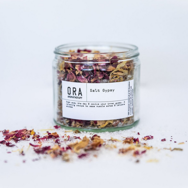 ORA AROMATHERAPY - SALT GYPSY BATH SALTS | 250GM