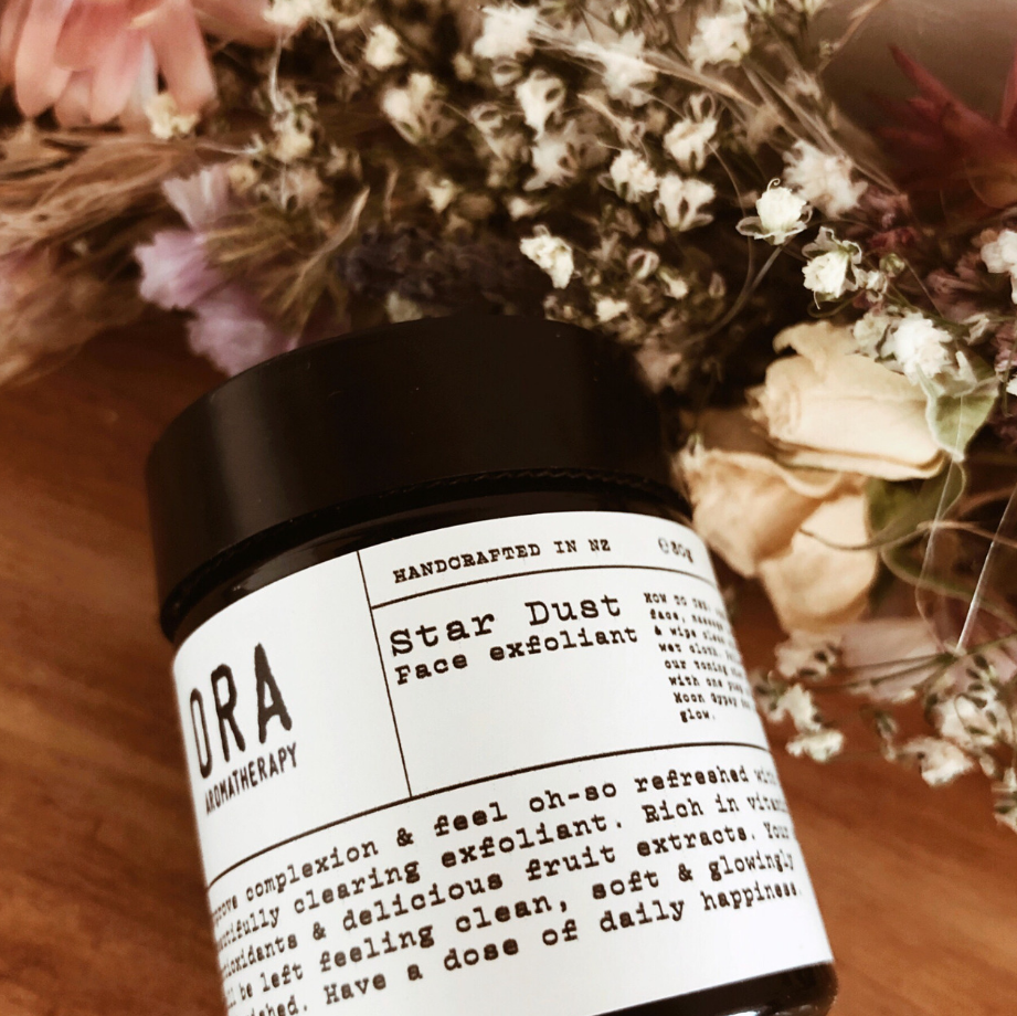 ORA AROMATHERAPY - STAR DUST FACE EXFOLIANT | 30GM