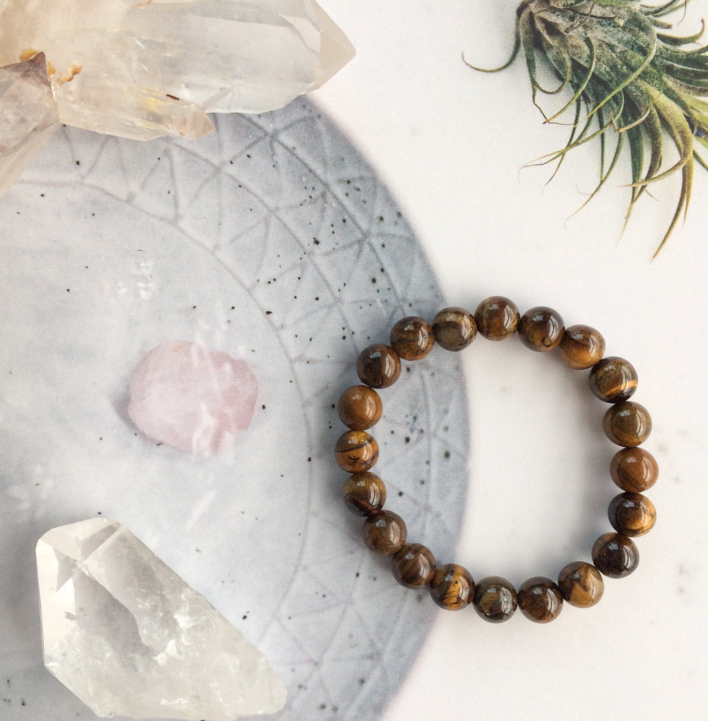 CRYSTAL BRACELET | TIGERS EYE