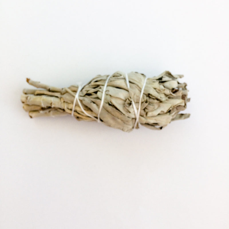 WHITE SAGE SMUDGE STICK | SMALL