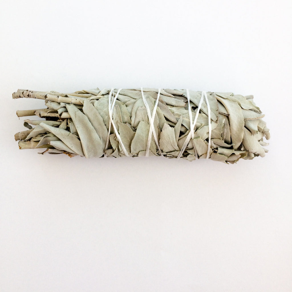 WHITE SAGE SMUDGE STICK | MEDIUM