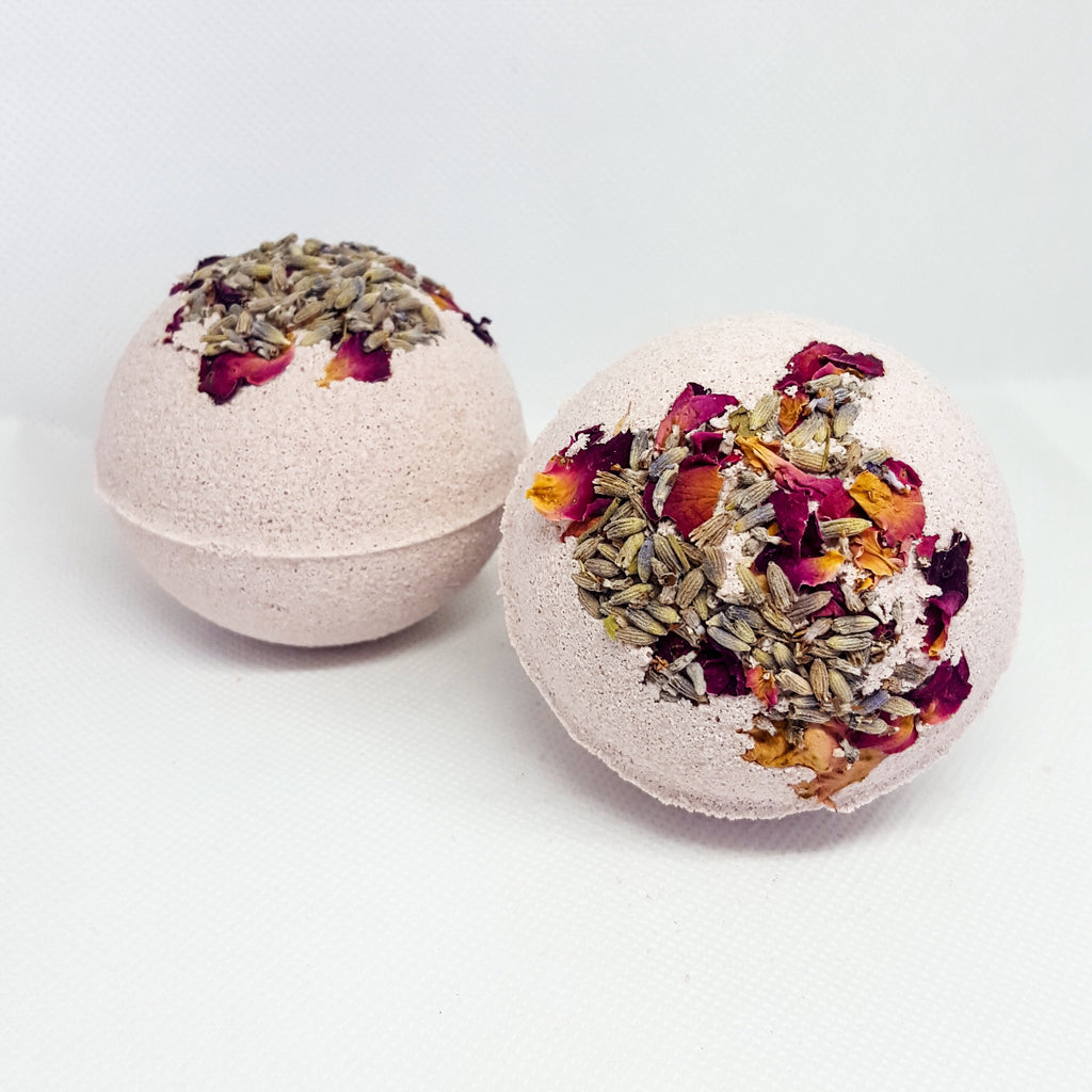 BOTANICAL BATH BOMB | LAVENDER + CLAY