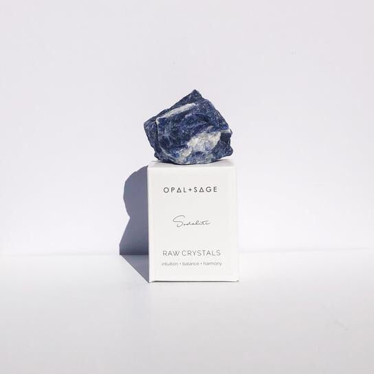 RAW CRYSTAL | SODALITE